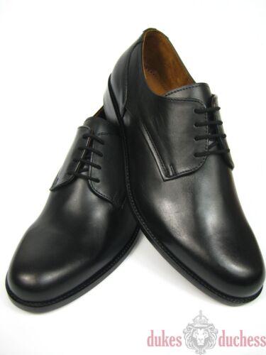 Manz Hommes Extra Derby Affaires Large K Chaussures Cuir 162093 Noir En Pour Uni rfryC