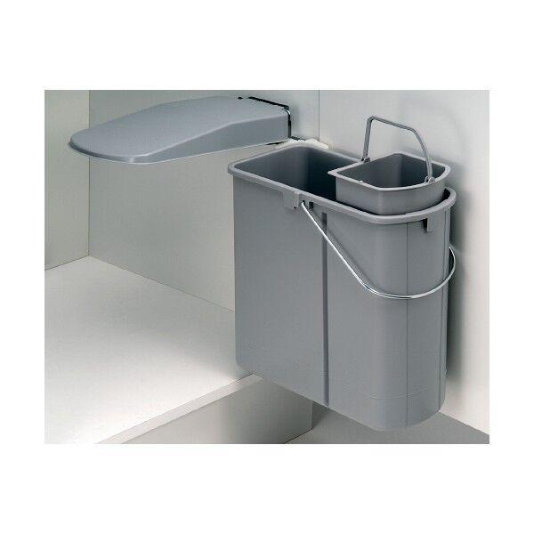 Wesco Einbaumülleimer Mülleimer 19 Liter mit Bioeinsatz