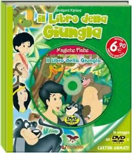 Libri-Magiche-Fiabe-Il-Libro-Della-Giungla-Libro-Dvd