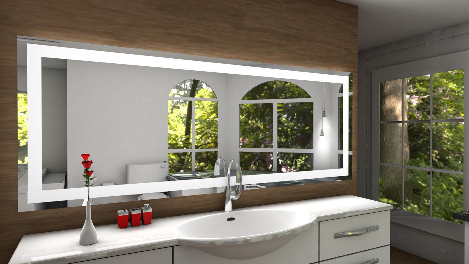 mit toulon led badspiegel lichtspiegel spiegel bad  leuchtspiegel neue wege gehen #15