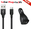 miniature 28 - 3/6/10FT Braided USB C Type-C Fast Charging Data SYNC Charger Cable Cord