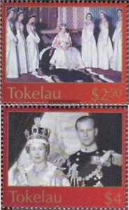 100% De Qualité Tokelau 335-336 (complète Edition) Neuf Avec Gomme Originale 2003 Couronnement Q Vente Chaude 50-70% De RéDuction