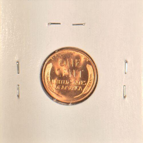 1957 D Lincoln Wheat Cent Gem BU