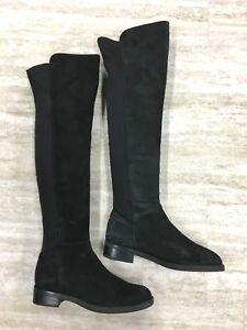 aeed4015254 Image is loading Blondo-Ellie-Waterproof-Suede-Knee-High-Black-Boots-