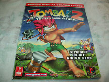 TOMBA 2 THE EVIL SWINE RETURN STRATEGY GUIDE BY PRIMA