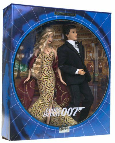James Bond Girl Barbie Ken bambolas Secret Agent azione cifra Spy 007 Xmas Gift