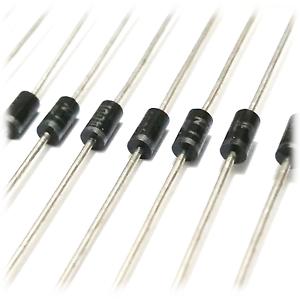 100 Stück 20 Diode 1N4001//1N4004//1N4007 Gleichrichter 10 50