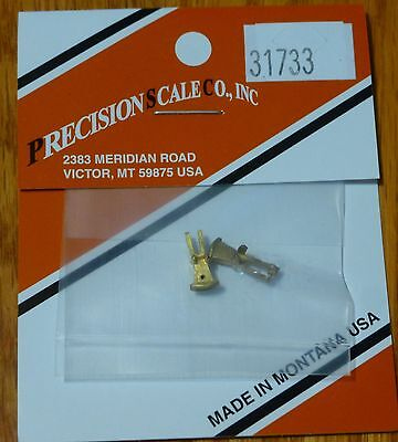 Precision Scale HO #31733 (Brass) Coupler Pocket, Link & Pin Style for: #31378
