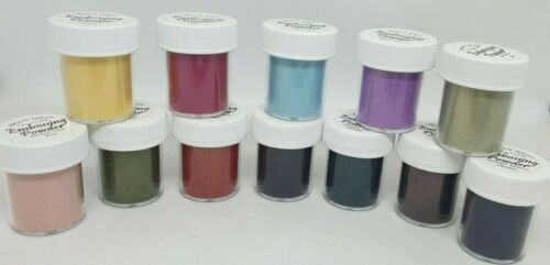Iridescent Dimensional Moon Glow Two Toned Embossing Powder Various Colours