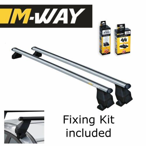 M-WAY Menabo Aero Fit Roof Rack Space Bars Rails for RENAULT Captur 5 Door 13/>