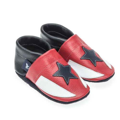Pantau cuero krabbelschuhe niños Exclusiv Baby zapatos-fútbol Sport