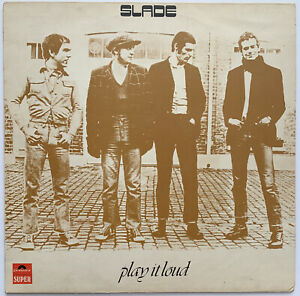 SLADE-PLAY-IT-LOUD-LP-POLYDOR-UK-1970-A2-B2-MATRIX-EX-CONDITION-PRO-CLEANED