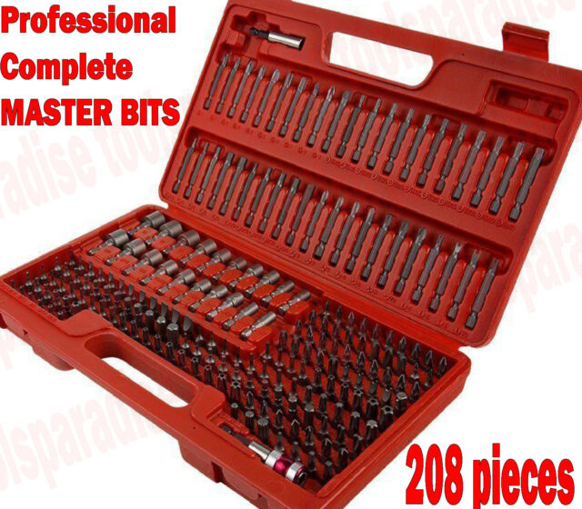 KS Tools 911.2085 CLASSIC Security Bit Set 122 Pieces 1//4-Inch NEW