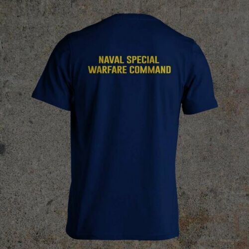 Navy SEAL BUD//S NSWC UDT// SEAL HELL WEEK BLUE Black and Navy Blue S-3XL T-Shirt