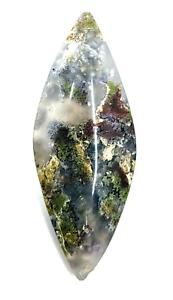 32-4ct-Natural-Fine-Moss-Agate-Cabochon-Landscape-Agate-Untreated-Unheated