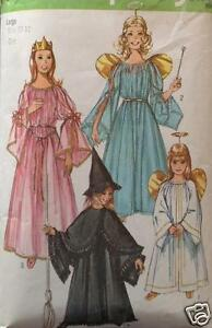 VTG-Simplicity-9052-Sewing-Pattern-Princess-Witch-Fairy-Angel-Halloween-Costume