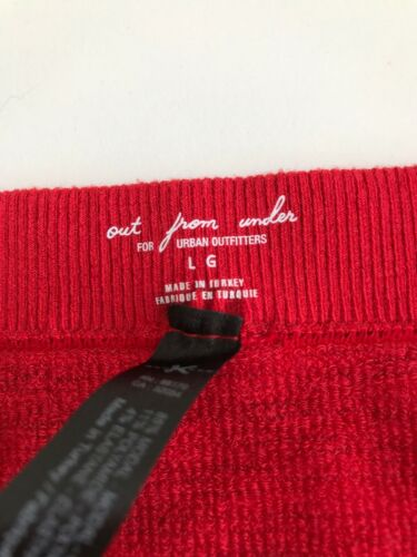Large Urban Outfitters Markie Red Ribbed Tube Body RRP £19