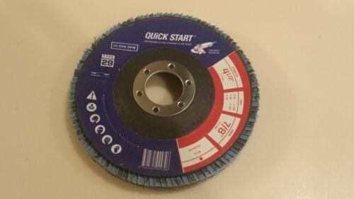 "High Density 20Pack 4.5/""x 7//8/"" Zirconia Flap Disc Grinding Wheel Free Shipping"