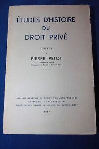 Etudes-d-039-histoire-du-droit-prive-offertes-a-Pierre-Petot