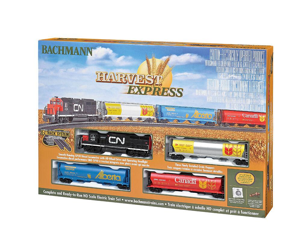 Bachmann HO Harvest Express train 00735 NIB Bachman H -O NEW