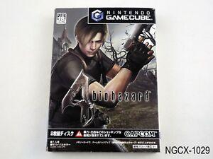 Biohazard-4-Resident-Evil-Gamecube-Japanese-Import-GC-NGC-Japan-US-Seller-B
