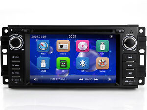 Details About Auto Stereo Radio Car Dvd Player Gps Navigation For Dodge Challenger Srt8 Rt