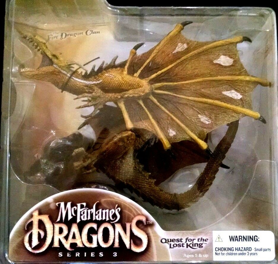 Mcfarlane Dragons series 3 Quest For The Lost King The Fire Dragon Clan 3