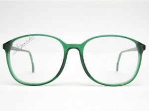 Glasses-Glasses-Frame-Ladies-Vintage-Oversize-Panto-80er-Green-Transparent-New