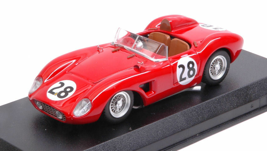 Ferrari 500 Trc  28 10th (Winner Class) 12 H Sebring 1957 Hively   Ginther 1 43