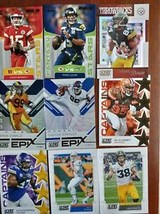 2019 NFL PANINI SCORE- PICK YOUR CARD- FANTASY STARS, ROOKIE CARDS, DRAFT, EPIX