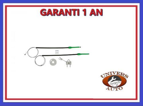 KIT DE REPARATION LEVE VITRE FIAT DOBLO 4-5 PORTES AVANT GAUCHE 2000/>2010