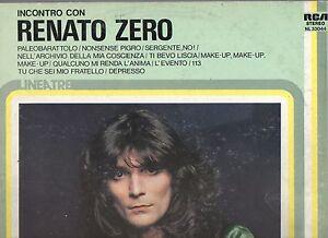 RENATO-ZERO-disco-LP-33-GIRI-stampa-ITALIANA-Incontro-con-MADE-in-ITALY-1977