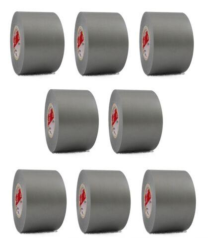"8 Rolls Gray Vinyl PVC Electrical Tape 2/"" x 66/' Flame Retardant Free Shipping"