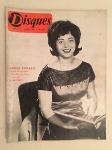 Revista Discos N º 127 Febrero Teresa Berganza 1962