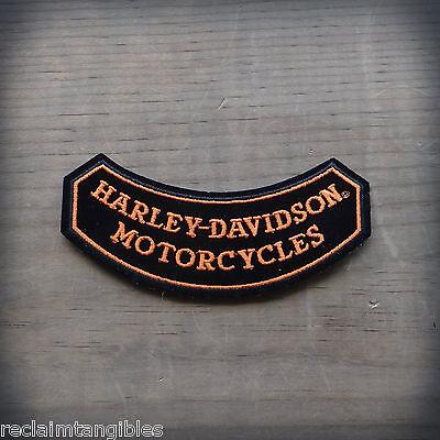 Harley Davidson Authentic Patch - On the Rocks - Medium Emblem Badge
