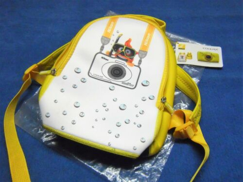Nikon Coolpix mochila amarillo cámara neoprene s30 s31 s32 foto backpack Camera