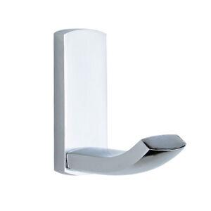 Details About Polished Chrome Wall Mount Bathroom Towel Hooks Brass Hook  Hangers Single