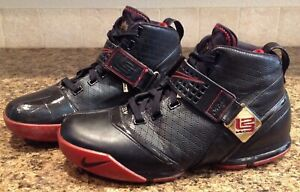 c6b404da Nike Zoom Lebron V 5 Black/Crimson/Gold- Men's 317253 001 Sz 11 | eBay