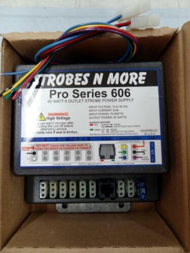 Strobes N More Pro Series 606 Strobe Power Supply