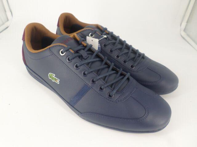 a910e005b Lacoste Sport Mens Blue Misano Sport 317 Trainer UK 8 EU 42 LN20 73 SALEx