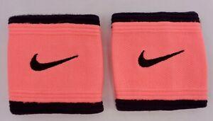 Nike-Drifit-Singlewide-Bandes-Poignet-Tennis-Lave-Brillant-Noir