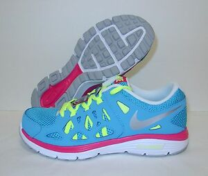 Details about New Girls Nike Dual Fusion Run 2 (GS) Running Shoes 599793401 Youth Size 6.5Y