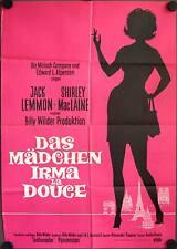 Das Mädchen Irma la Douce Filmposter A1 EA B Jack Lemmon, Shirley MacLaine