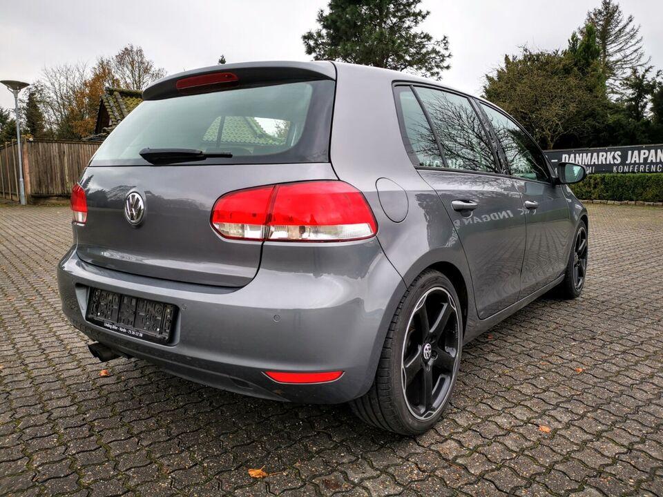 VW Golf VI 2,0 TDi 110 Comfortline Diesel modelår 2009 km