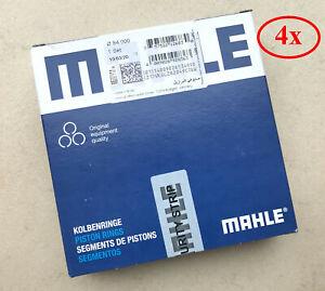 4x-MAHLE-Kolbenringe-fuer-BMW-N43-N45-N46-Motor-STD-84mm
