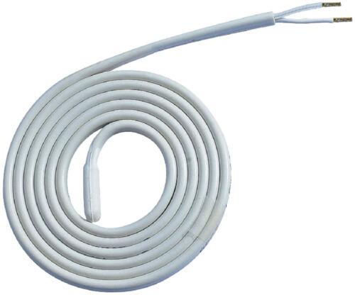 2 m cordon cable chauffant pour antigel,100 w électrique