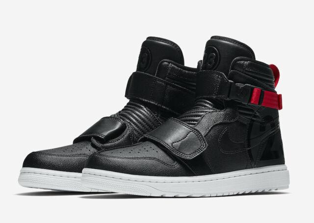 cffb2385efba Nike Air Jordan 1 Moto Shoes Mens Sz 14 At3146 001 RARE Jordan Shoe ...