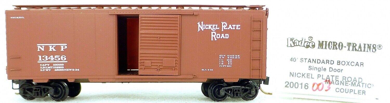 Micro Trains Ligne 20016 Nkp 13456 40' Standard Boîte 1 160