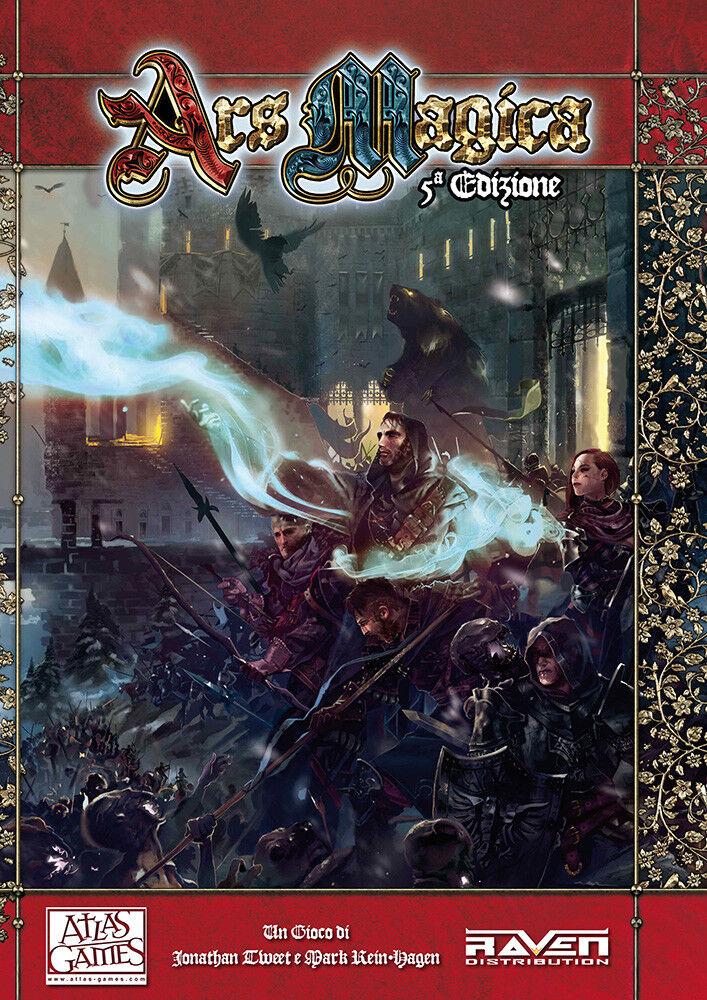 Ars Magica 5  Edizione Manuale Base Italiano Nuovo Sigillato