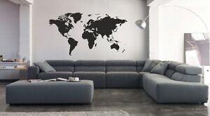 Vinilo decorativo mapamundi stickers decals pegatinas paredes adhesivos calcas